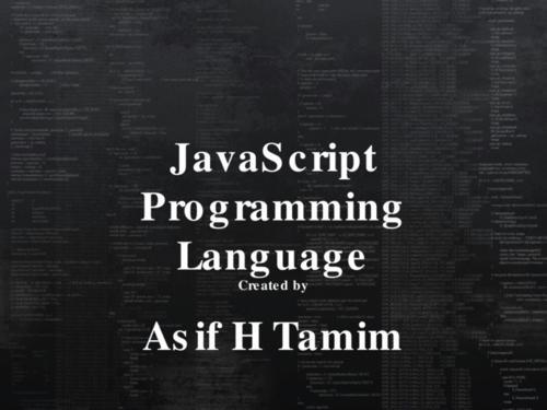 java script(java script和java有什么区别)-IT技术网站